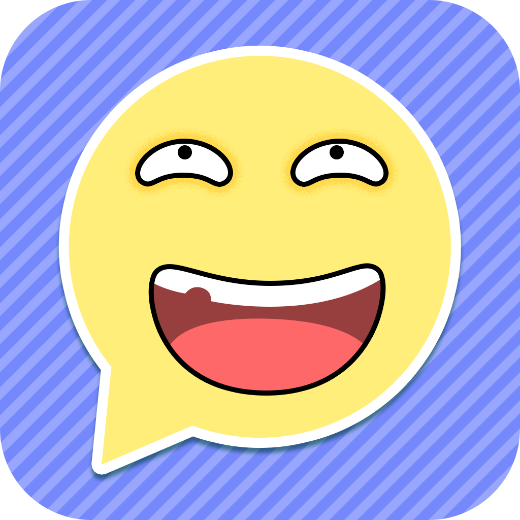 A+ Emoticon Stickers Free - Funny Emoji Chat Icons App